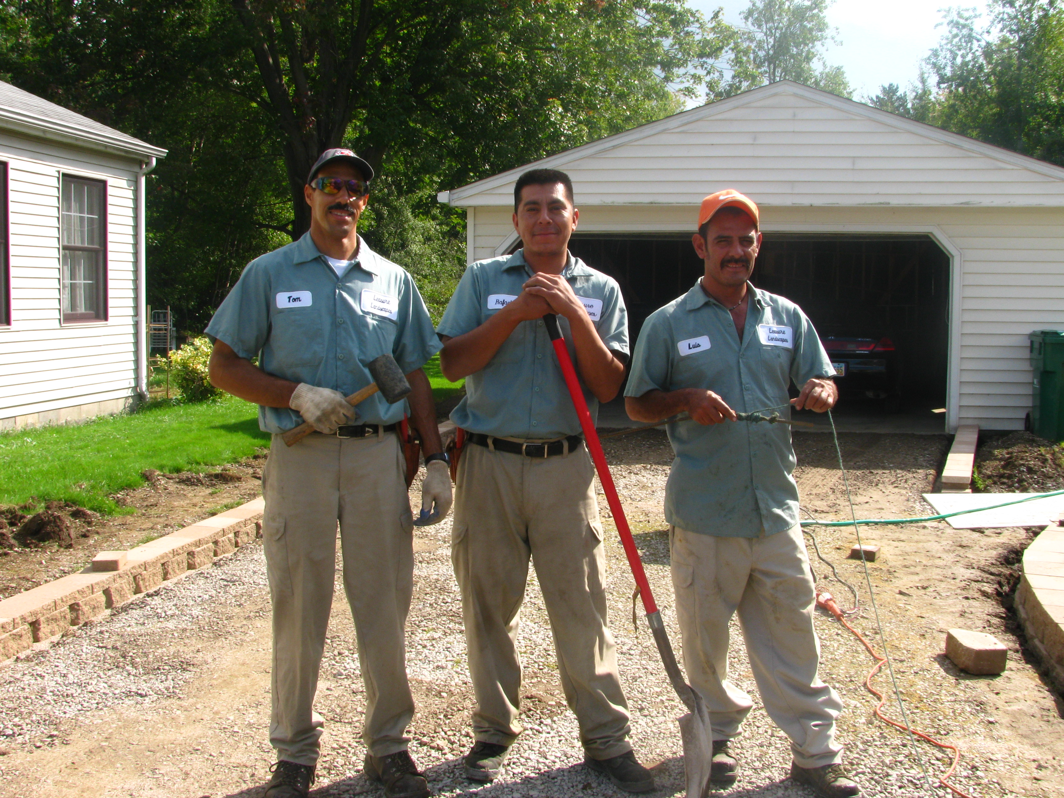 Leasure Landscapes Crew