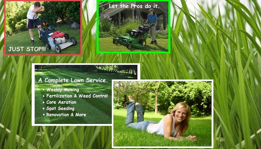 lawn service weekly moving